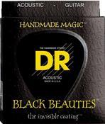 BKA-12 Black K3 Coated Acoustic 12-54