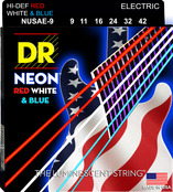 NUSAE-9 NEON Red White and Blue Electric 9-42
