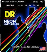 NMCE-9 Multi Color Electric Guitar Lite 9-42