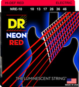 NRE-10 NEON Red Electric Medium 10-46