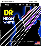 NWE-11 Neon White Electric Guitar Heavy 11-50