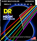 NMCA-12 Multi Color Acoustic Guitar Lite 12-54
