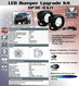 LED LIGHT KIT FOR HD Bumpers & JEEP FRONT BUMPER