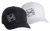 Iron Cross Pinstripe Flex Fit  Hat