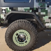 Jeep JK Rear Fender Flare Set