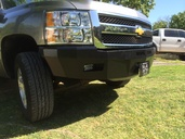 30-315-07 RS Series Bumper for 2007-2013 Sierra 1500 **LIGHT KIT SOLD SEPERATELY**