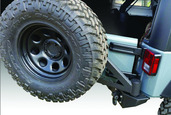 07-15 JEEP FULL SIZE REAR BUMPER WITH TIRE CARRIER