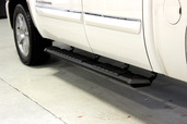 "Patriot Running Board Black Powder Coat 80"" Long"