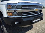 40-525-15 - 2015-2016 SILVERADO HD (2500/3500) HD Low Profile Front Bumper