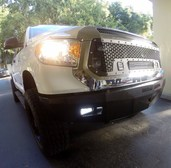 30-715-14 RS Series Bumper for 2014-Current Toyota Tundra**LIGHTS SOLD SEPERATELY**