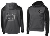 Iron Cross 1/4 Zip Fleece Hoodie