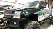 40-525-03 - 2003-2006 SILVERADO HD (2500/3500) HD Low Profile Front Bumper
