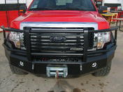 24-425-17 - 2017 FORD SUPER DUTY F-250/350/450 FRONT BUMPER FULL GUARD