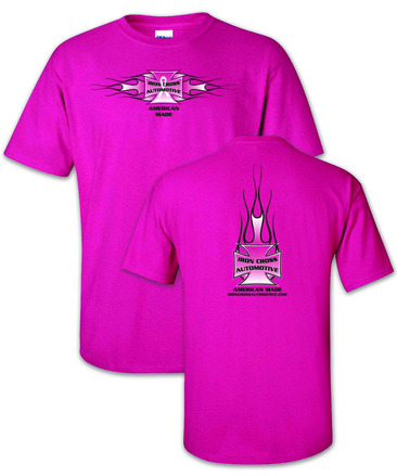 """Iron Cross Pink """"Breast Cancer""""  T-Shirt picture"""