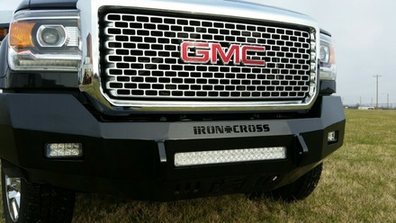 40-325-15 2015-2016 SIERRA 2500/3500 HD LOW PROFILE FRONT BUMPER picture