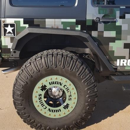 Jeep JK Rear Fender Flare Set picture