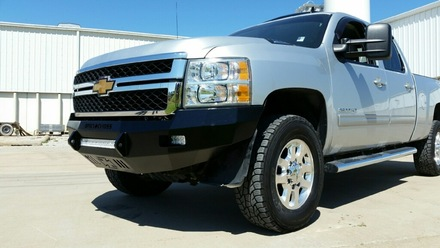 40-525-11 - 2011-2014 SILVERADO HD (2500/3500) HD Low Profile Front Bumper picture