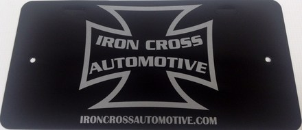 IRON CROSS LICENSE PLATE picture