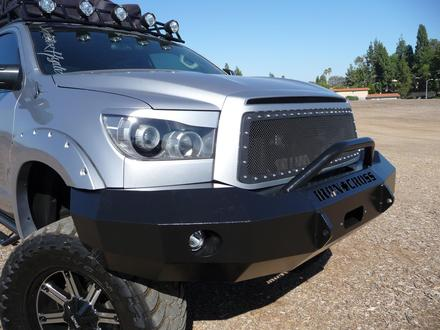 22-715-07 - 2007-2013 TUNDRA FRONT BUMPER WITH BAR picture