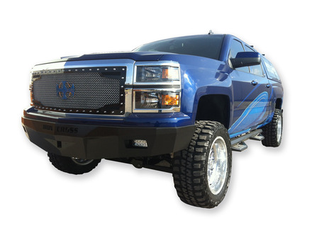 30-515-14 RS Series Bumper for 2014-Current Silverado 1500 RAW PRIMERED BUMPER picture