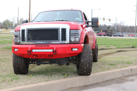 40-425-08- 2008-2010 SUPER DUTY F-250/350/450 HD Low Profile Front Bumper picture