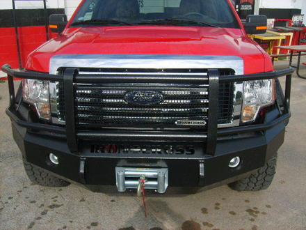 24-525-07 - 2007-2010 SILVERADO HD FRONT BUMPER FULL GUARD picture