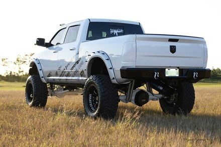 21-625-10 - 2010-2015 DODGE RAM 2500/3500- 2009-20153 RAM 1500 Rear Bumper picture