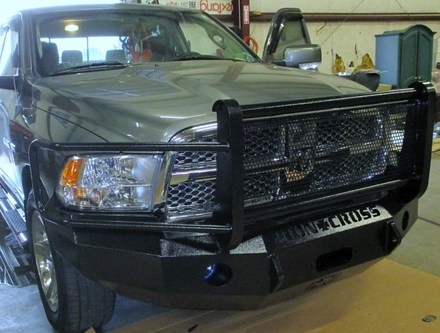 24-625-10 - 2010-2015 DODGE RAM 2500/3500 NEW BODY FULL GUARD BUMPER picture