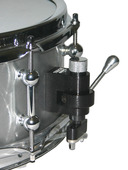 Trick Drums Black Powder Coated 1-Position Throw- off w/butt
