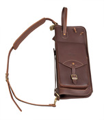 Tackle Instrument Supply Brown Leather Stick Bag