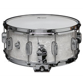 "Rogers Dyna-Sonic 6.5"" x 14"" Classic Snare Drum - White Marine Pearl"