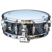 "Rogers Dyna-Sonic 5"" x 14"" Classic Snare Drum - Black Diamond Pearl"