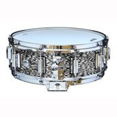 "Rogers Dyna-Sonic 5"" x 14"" Classic Snare Drum with Beavertail Lugs - Black Onyx"