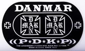 Danmar Iron Cross Double Bass Drum Impact Pad