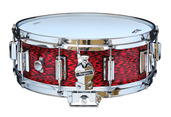 "Rogers Dyna-Sonic 5"" x 14"" Classic Snare Drum with Beavertail Lugs - Red Onyx"