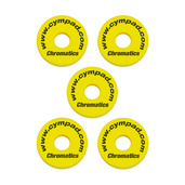 Cympad Chromatics Yellow 40/15mm Crash Set (5 pcs)