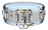 "Rogers Dyna-Sonic 5"" x 14"" Classic Snare Drum with Beavertail Lugs - White Marine Pearl"