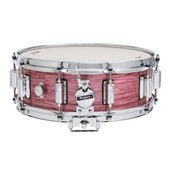 "Rogers Dyna-Sonic 5"" x 14"" Classic Snare Drum with Beavertail Lugs - Red Ripple"