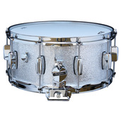 "Rogers Dyna-Sonic 6.5"" x 14"" Classic Snare Drum - Silver Sparkle"