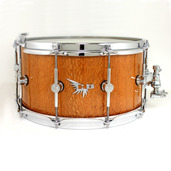 "Hendrix 14"" x 7"" Leopardwood Gloss Finish Snare Drum"
