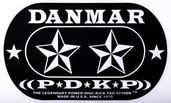 Danmar Stars Double Bass Drum Impact Pad