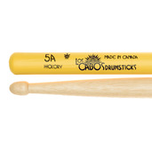 Los Cabos 5A Yellow Jacket White Hickory Drumsticks