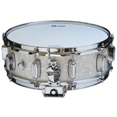 "Rogers Dyna-Sonic 5"" x 14"" Classic Snare Drum - White Marine Pearl"