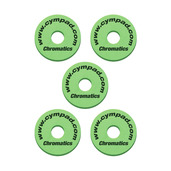 Cympad Chromatics Green 40/15mm Crash Set (5 pcs)