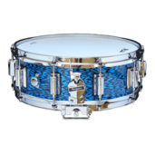 "Rogers Dyna-Sonic 5"" x 14"" Classic Snare Drum with Beavertail Lugs - Blue Onyx"