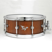 "Hendrix 14"" x 6"" High Gloss Sapele Snare Drum"