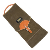 Tackle Waxed Canvas Compact Stick Case in Forest Green
