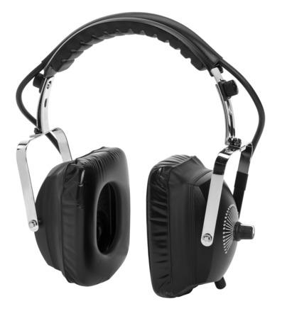 Metrophones Headphones with Analog Infinite Speed Dial picture
