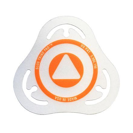 Slug Triad Pad Batter Badge Orange picture