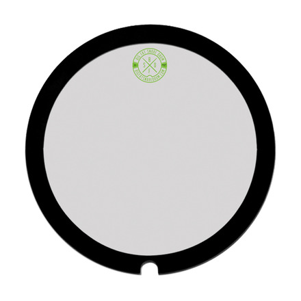 """Green Monster"" 14"" Big Fat Snare Drum Head picture"